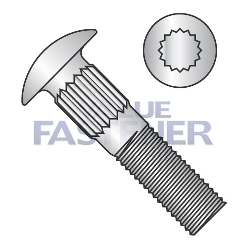 Ribbed Neck Carriage Bolts