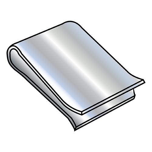 2000pcs C20285-017-3B Nuts U Clips Electro Zinc carbon Steel
