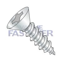 12-11X3 1/2  Phillips Flat Self Tapping Screw Type A Fully Threaded Zinc And Bake