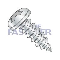 6-18X1/2  Phillips Pan Self Tapping Screw Type A Fully Threaded Zinc And Bake