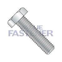 5/16-18X1 1/2  Hex Tap Bolt Low Carbon Fully Threaded Zinc