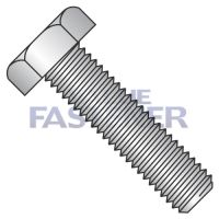 1/4-20X5  Hex Tap Bolt Fully Threaded 18 8 Stainless Steel