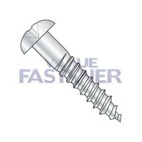 8-15X1/2  Phillips Round Head Full Body 2/3 Thread Wood Screw Zinc