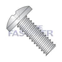 6-32X1/4  Phillips Binding Undercut Machine Screw Fully Threaded 18 8 Stainless Steel