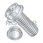 Hex Washer, Serrated Machine Screws