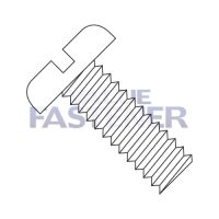1-64X3/4  Slotted Pan Machine Screw Fully Threaded Nylon