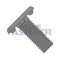 10-32X1/2  Weld Screw With Nibs Under The Head Fully Threaded Plain
